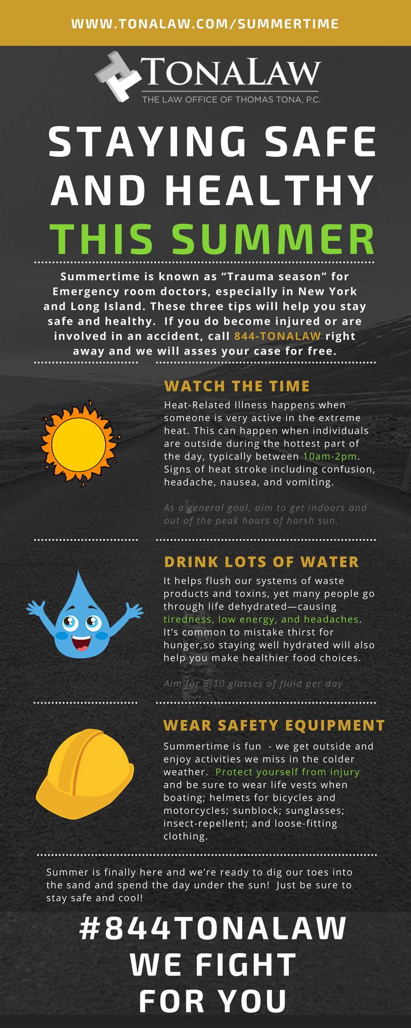 Tips to Stay Safe in the Summer